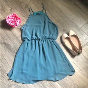 Teal Summer Dress 👗✨